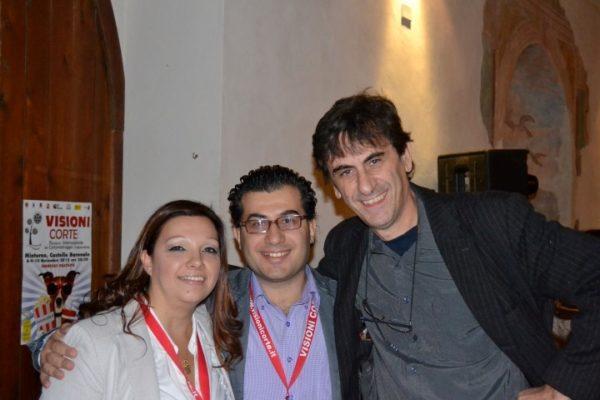 Con Pietro De Silva