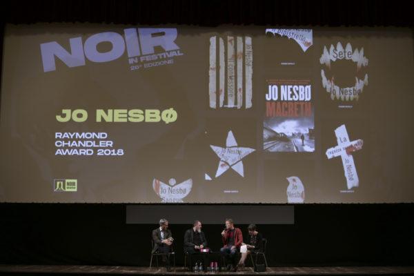 incontro Lucarelli – Nesbo