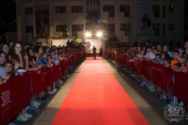 Red Carpet all'Arena Loren – SOCIAL WORLD FILM FESTIVAL